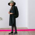 【MOUNTEN.】MT201015 seed stitch dress/150-160と大人