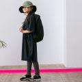 【MOUNTEN.】MT201015 seed stitch dress/150-160と大人