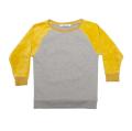 【MINGO.】 MI1800382A2/Velvet sweater/Grey melange*Sauterne