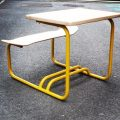 【LECONS DE CHOSES】Table school wood skate/イエロー