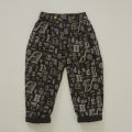 【eLfinFolk】alphabetic print  pants