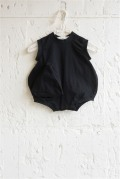 【UNIONINI】BABY-11/◯△ rompers/black