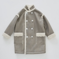 【cokitica】mouton hakushaku coat/gray