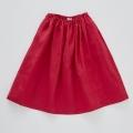 【cokitica】linen skirts red