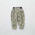 【eLfinFolk】elf-192F06 ALfaFolk emblem print pants