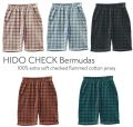 【LE PETIT GERMAIN】HIDO CHECK Bermudas shorts