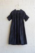【UNIONINI】OP-063/camo long dress navy×black 12-14y