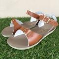 【Salt Water Sandals(ソルトウォーターサンダル)】Sun San surfer/tan茶色/20cm~22.4cm