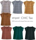 【LE PETIT GERMAIN】STRIPED CHIC Tee