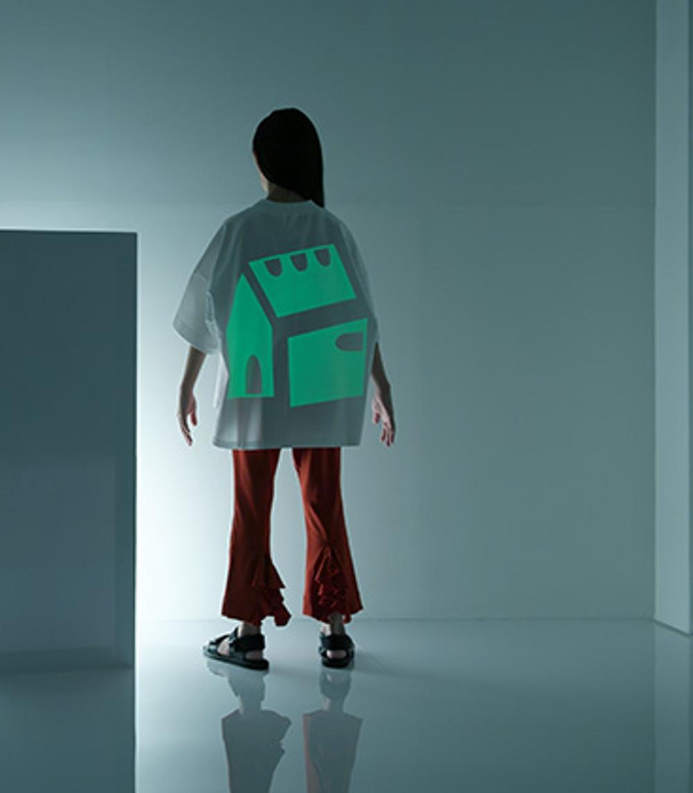【UNIONINI】CS-046-2/luminous tee