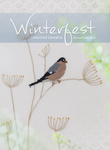 〔Fingerhut〕 図案集 B-120 Winterfest