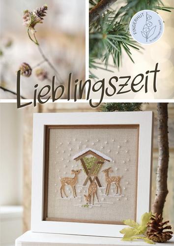*〔Fingerhut〕 図案集 B-134 Lieblingszeit <入荷待ち>