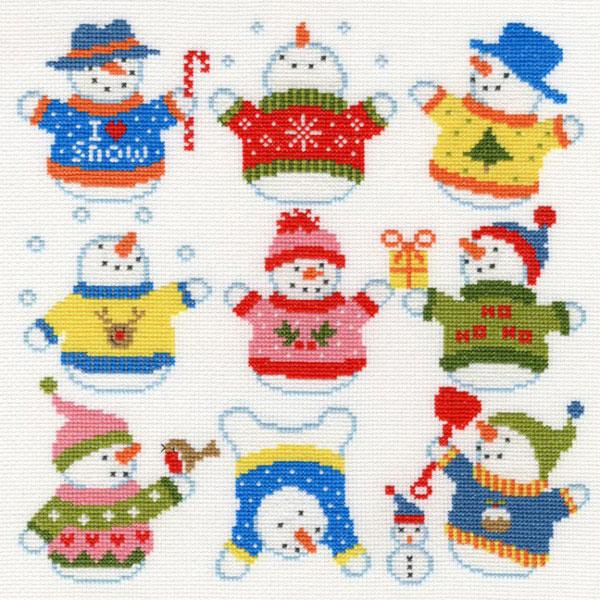 〔Bothy Threads〕 刺繍キット XEJ5 <12月のおすすめキット>