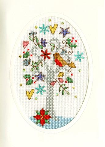 〔Bothy Threads〕 刺繍キット XMAS22