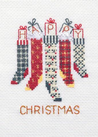 〔Derwentwater Designs〕 刺繍キット DW-CDX40 <12月のおすすめキット>