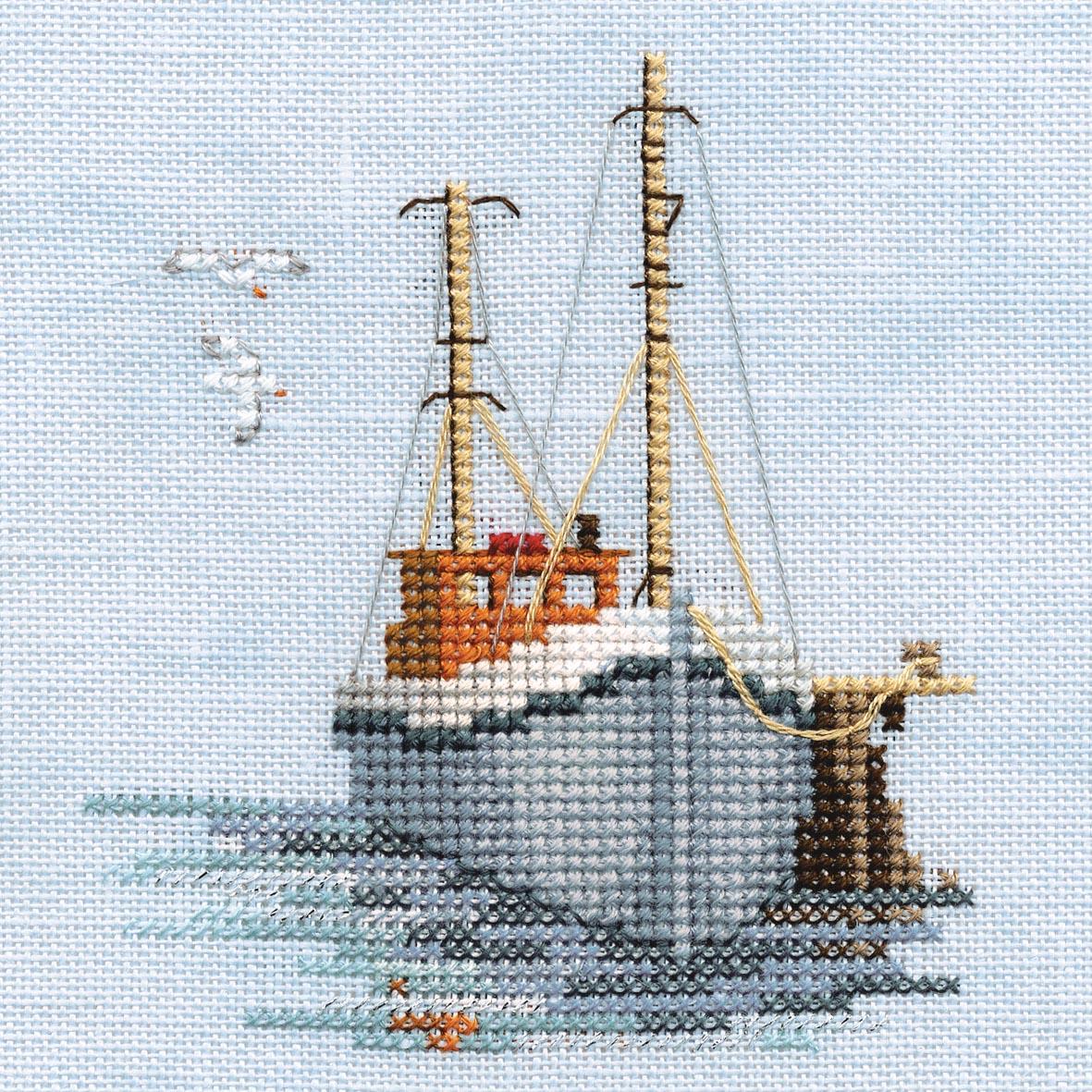 〔Derwentwater Designs〕 刺繍キット DW-MIN02