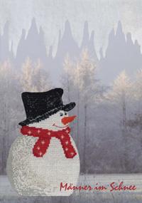 〔MWI-3463〕 図案集 Männer im Schnee