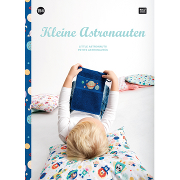 〔Rico Design〕 図案集 No.154 Kleine Astronauten
