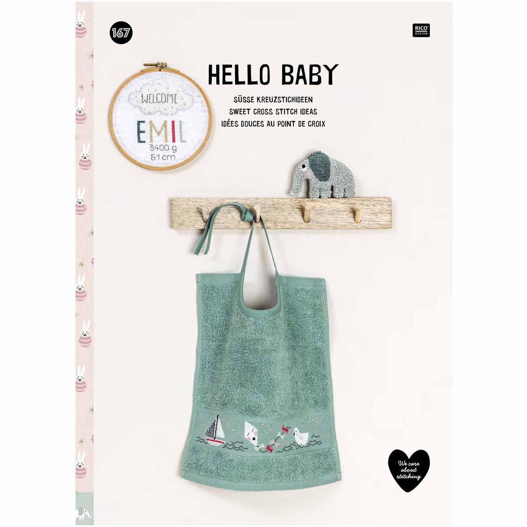 〔Rico Design〕 図案集 No.167 Hello Baby