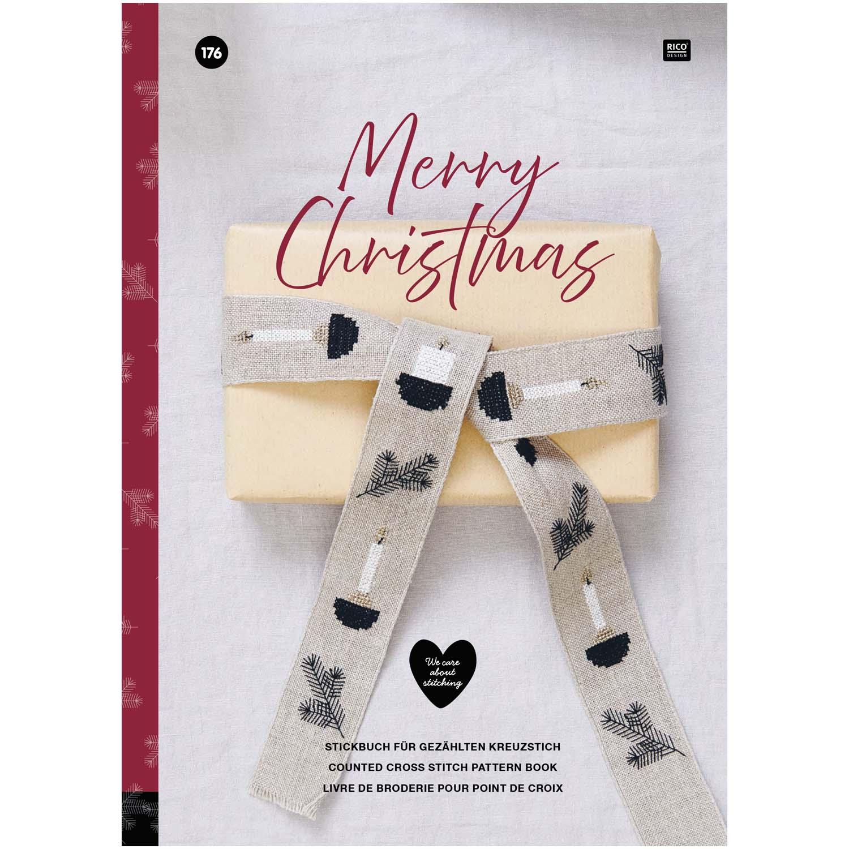 〔Rico Design〕 図案集 No.176 Merry Christmas