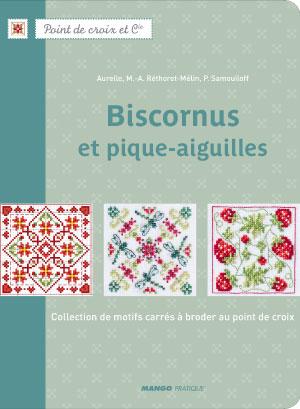 〔Mango〕 図案集 Biscornus et pique-aiguilles