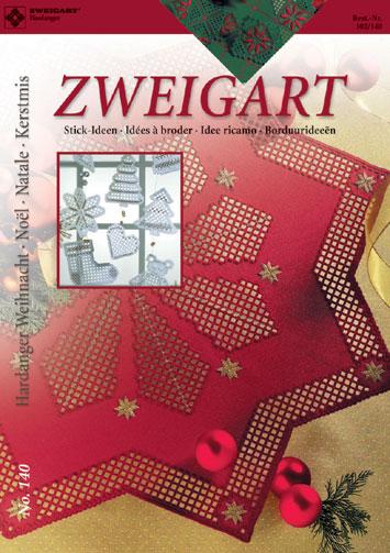 〔Zweigart〕 図案集 Hardanger No.140