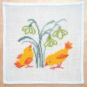 〔Fremme〕 刺繍キット 17-6587