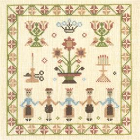 〔Fremme〕 刺繍キット 30-5193