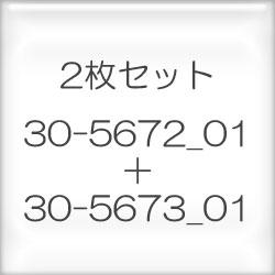 〔Fremme〕 刺繍キット 30-5672_01+30-5673_01