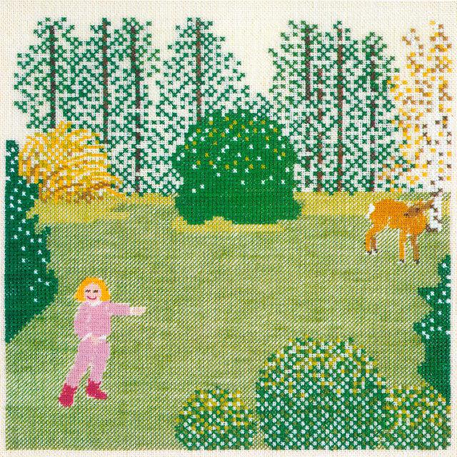〔Fremme〕 刺繍キット 30-6464