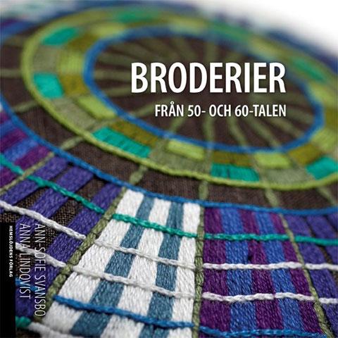 〔Book Hemslojden〕 BRODERIER  FRAN 50-och 60-talen