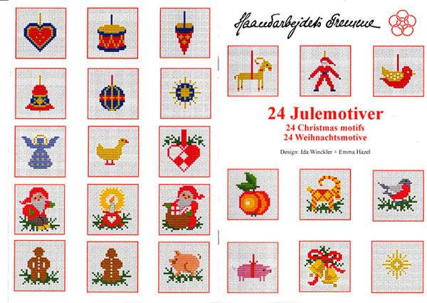 〔Fremme〕 図案集 52-2111 24 Christmas motifs