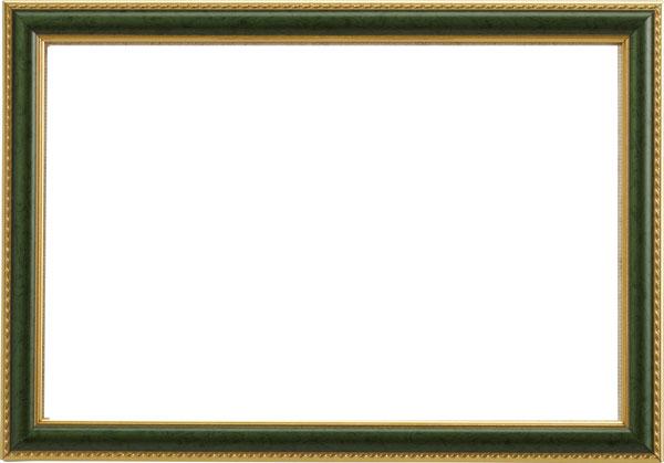 **〔Permin〕 フレーム / グリーン / 19 x 29 cm