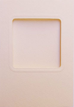 〔Permin〕 55874-00 フレームカード / スクエア&ベージュ / 3枚セット
