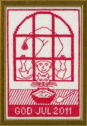 〔fru zippe〕 刺繍キット 70-0239