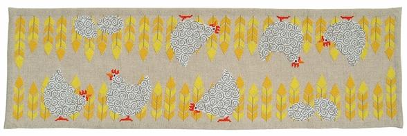 〔fru zippe〕 刺繍キット 77-0282 <2月のおすすめキット>