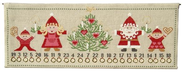 〔fru zippe〕 刺繍キット 78-0166 <12月のおすすめキット>