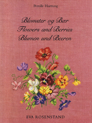 〔Eva Rosenstand〕 図案集 花とベリー