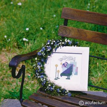〔Acufactum〕 刺繍キット A-2352 <1月のおすすめキット>