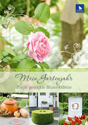 〔Acufactum〕 図案集 A-4003 Mein Gartenjahr