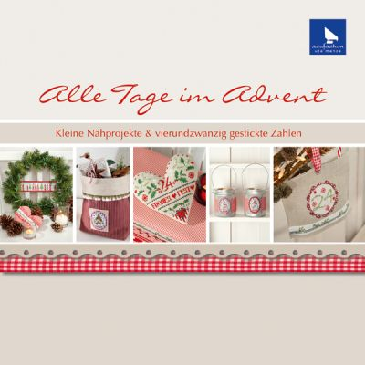 〔Acufactum〕 図案集 A-4015 Alle Tage im Advent