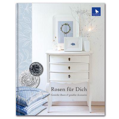〔Acufactum〕 図案集 A-4016 Rosen für Dich