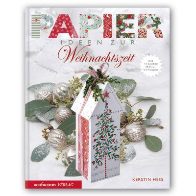**〔Acufactum〕 図案集 A-4026 Papier Ideen zur Weihnachtszeit