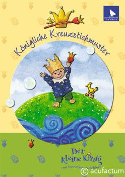 〔Acufactum〕 図案集 A-4071 Kaeigliche Kreuzstichmuster