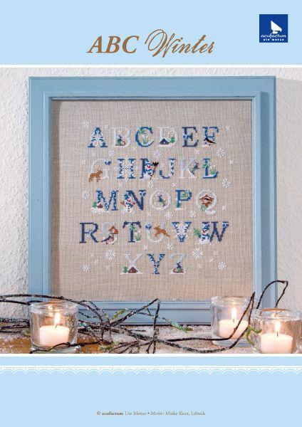 **〔Acufactum〕 図案 A-8-4089-01-E ABC Winter