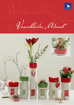 "〔Acufactum〕 図案 A-82119 Vasenkleider ""Advent"" 【即日発送可】"