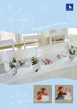 〔Acufactum〕 図案 A-82123 Kinder im Schnee