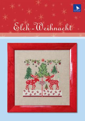 〔Acufactum〕 図案 A-82163 Elch-Weihnacht