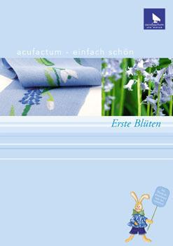 〔Acufactum〕 図案集 A-82878 Erste Blueten