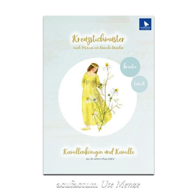 **〔Acufactum〕 図案 / A-82914 /  Kamillenkonigin und Kamille